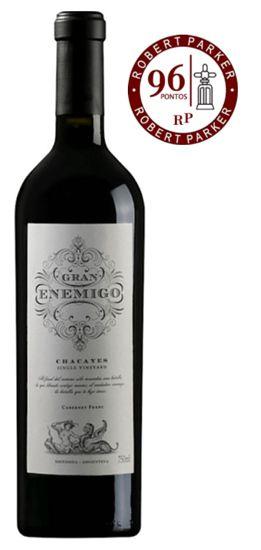 Gran Enemigo Single Vineyard Chacayes 2015   RP - 96 Pts.