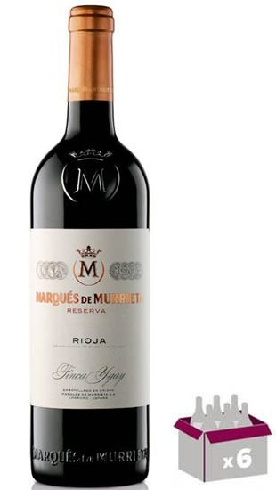 Kit C/ 06 Grfs. - Marques de Murrieta Reserva 2015 RP-93 Pts.