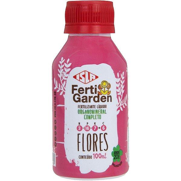 Fertilizante Isla Fertigarden Flores Concentrado 100 Ml