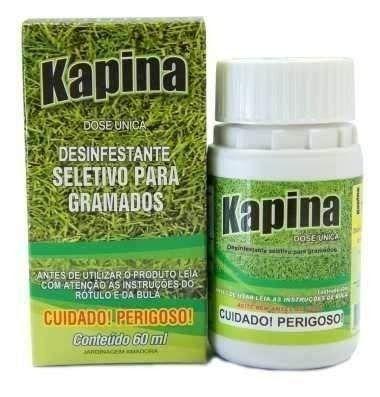 Herbicida Seletivo Kapina 60 Ml Para Grama Esmeralda