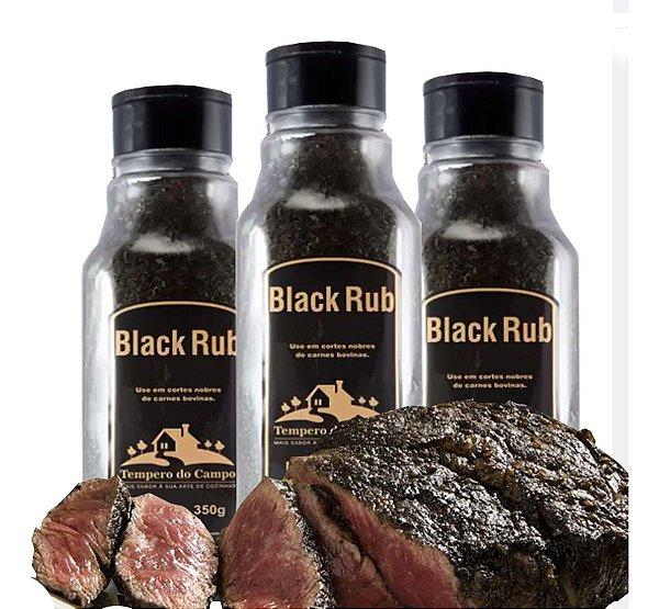 Black Rub 350g Ideal P Cortes Nobres De Carne Bovina