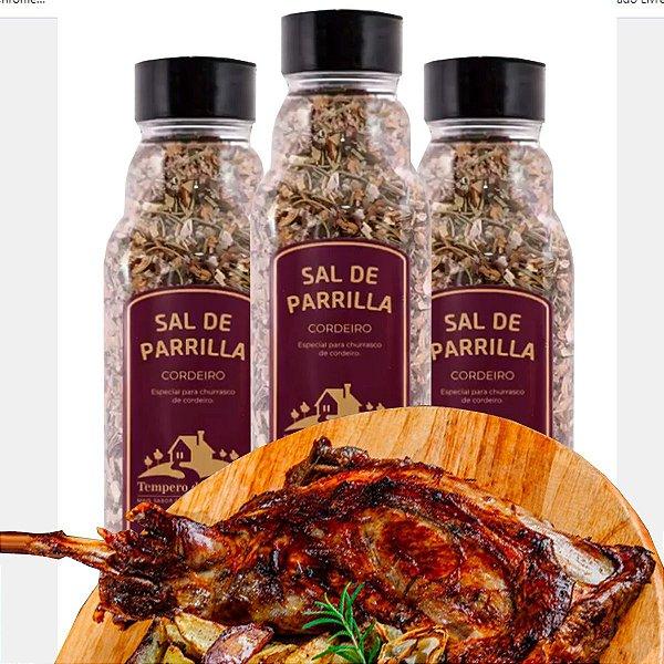 Sal De Parrilla Cordeiro 460g Especial P Carne De Cordeiro