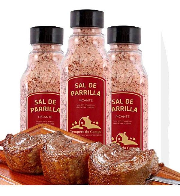 Sal De Parrilla Picante 500g Ideal P Carne Bovina E Outras