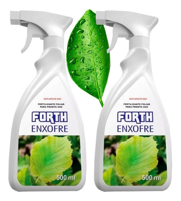 Fertilizante Forth Enxofre Pronto Borrifador 500ml