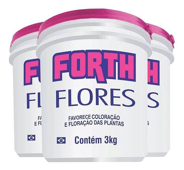 Fertilizante Forth Flores Coloração E Floração 3kg