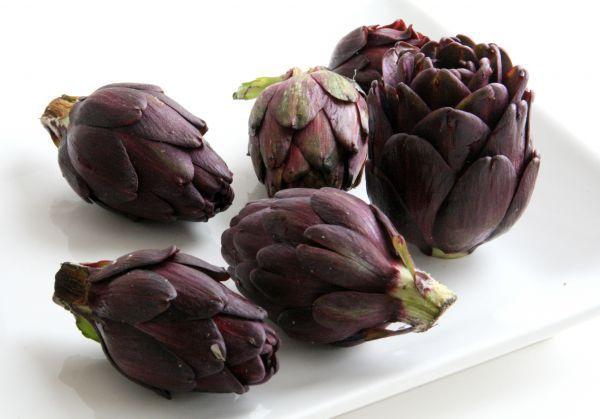 Sementes de Alcachofra Violeta Romana