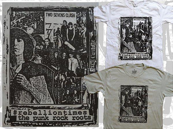 Camiseta coleção Zine Culture, Rebellion