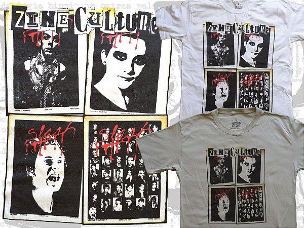 Camiseta coleção Zine Culture, Slash