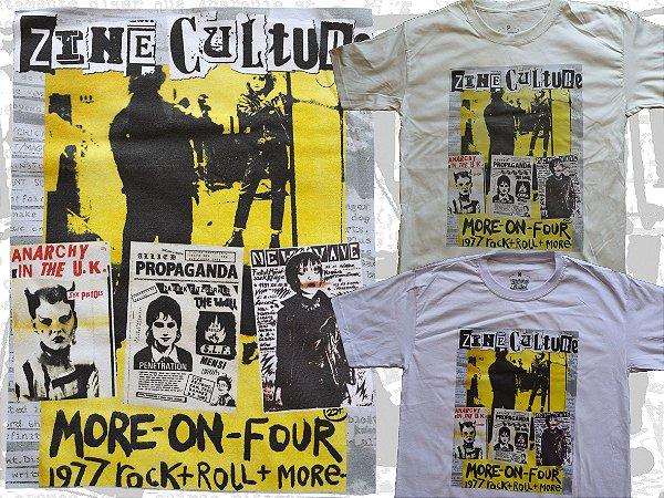 Camiseta coleção Zine Culture, Punk Girls