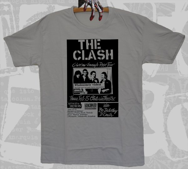 The Clash - Give'm Enough Rope Tour