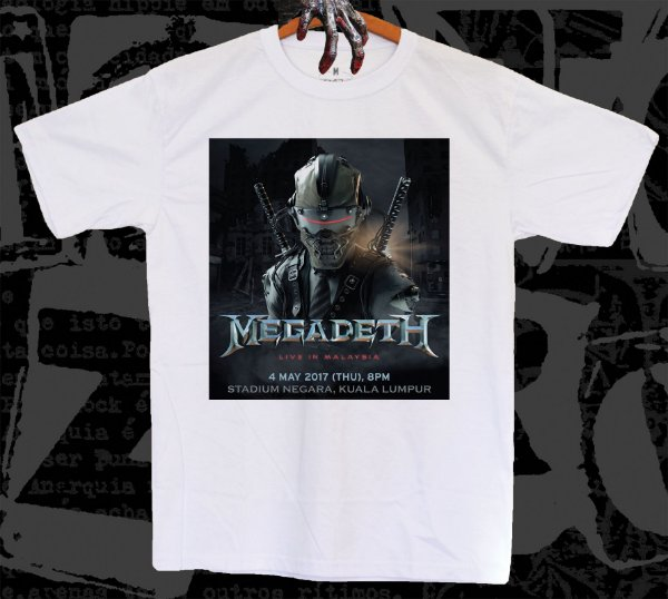 Megadeth - Live in Malaysia