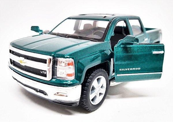 Chevrolet Silverado Verde - Escala 1/46 13 CM