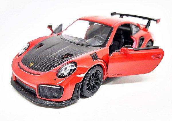 Porsche 911 GT2 RS Vermelho - Escala 1/36 12 CM