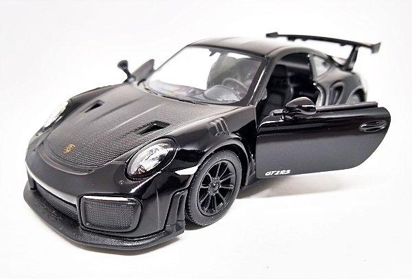 Porsche 911 GT2 RS Preto - Escala 1/36 12 CM