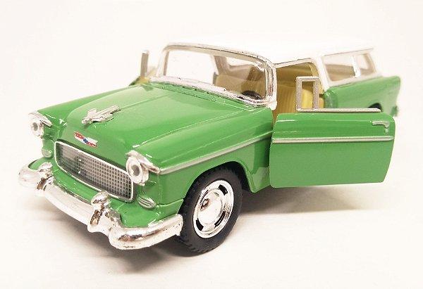 Chevrolet Chevy Nomad 1955 Verde - Escala 1/40 12 CM