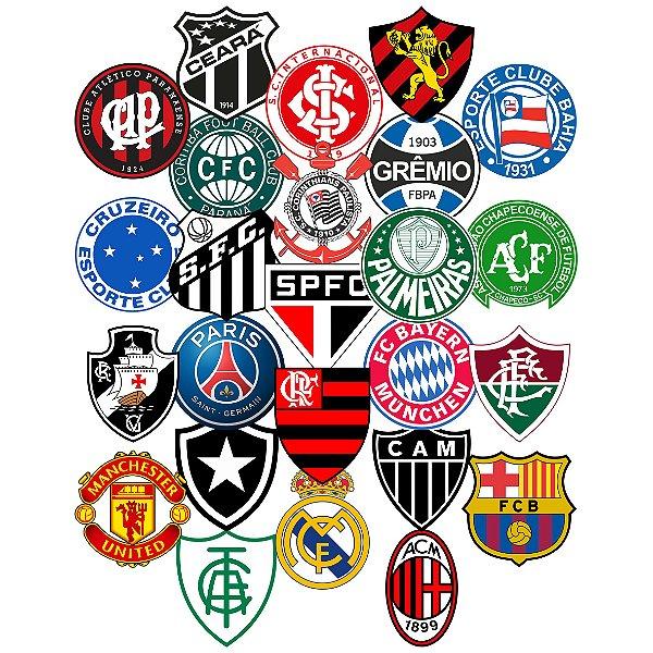 Adesivos Times De Futebol - Nacional E Internacional