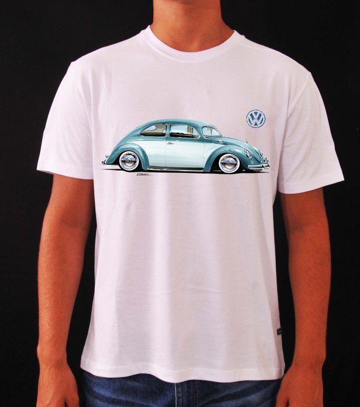 Camisetas Volkswagen Fusca
