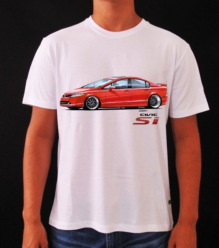 Camiseta Honda Civic SI