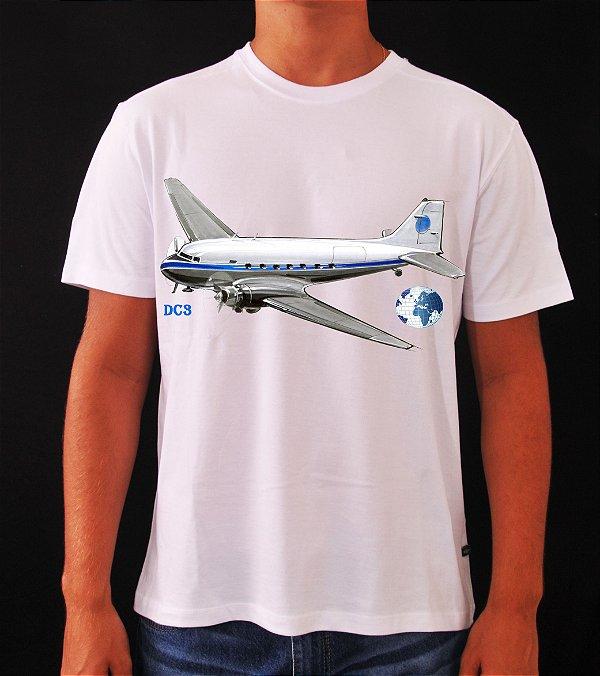 Camiseta Avião DC3