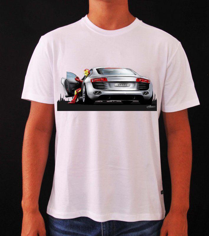 Camiseta Audi R8