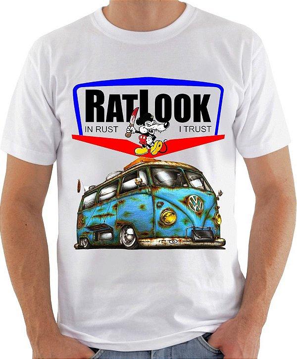 Camisetas  Volkswagen Kombi RatLook