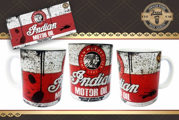 Caneca Vintage Indian