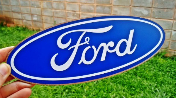 Placa Decorativa Ford