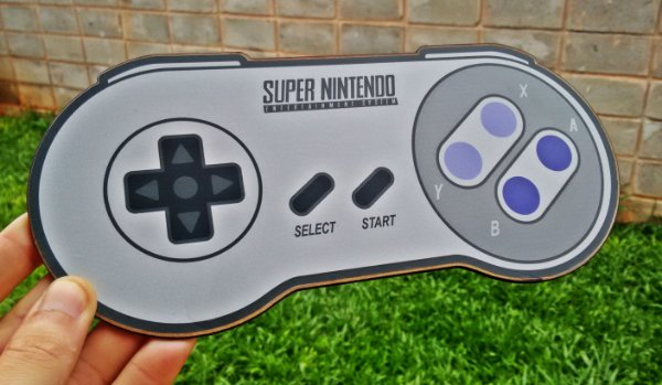 Placa Decorativa Super Nintendo