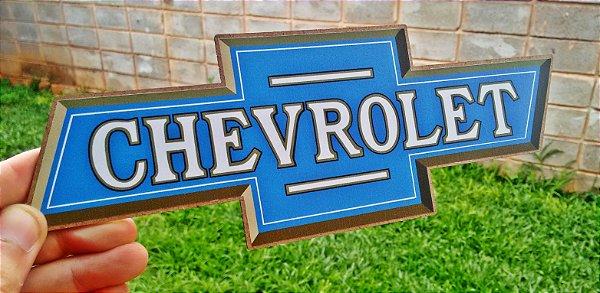 Placa Decorativa Chevrolet