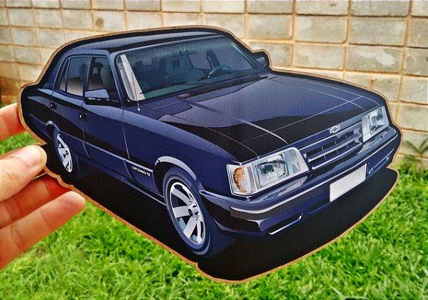 Placa Decorativa  Chevrolet Opala Diplomata SE