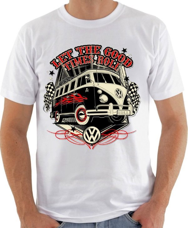 Camiseta Volkswagen Kombi Let the Good