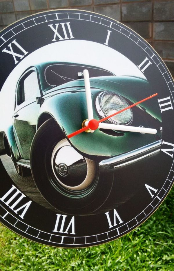 Relógio de Parede Fusca - Com Pilha