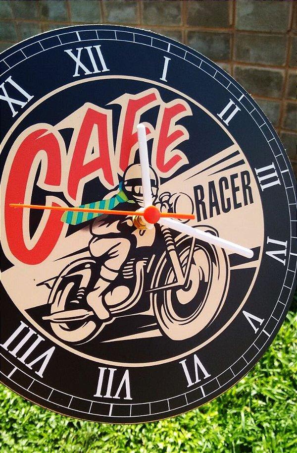 Relógio de Parede Café Racer - Com Pilha