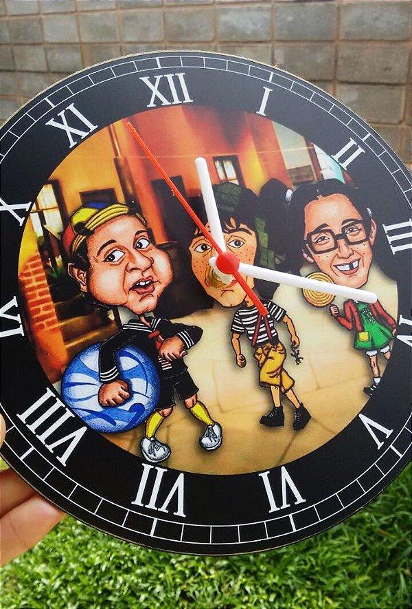 Relógio de Parede Turma do Chaves - Com Pilha