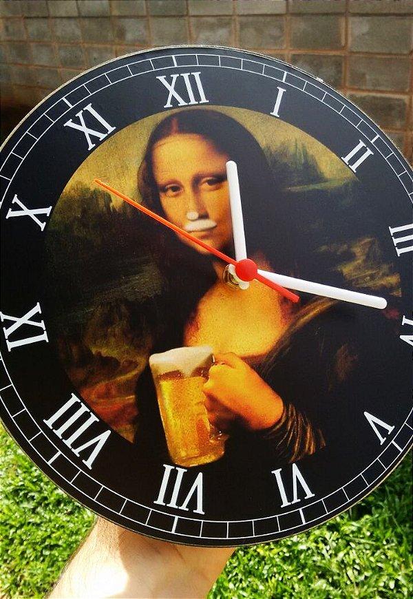 Relógio de Parede MonaChopp - Com Pilha