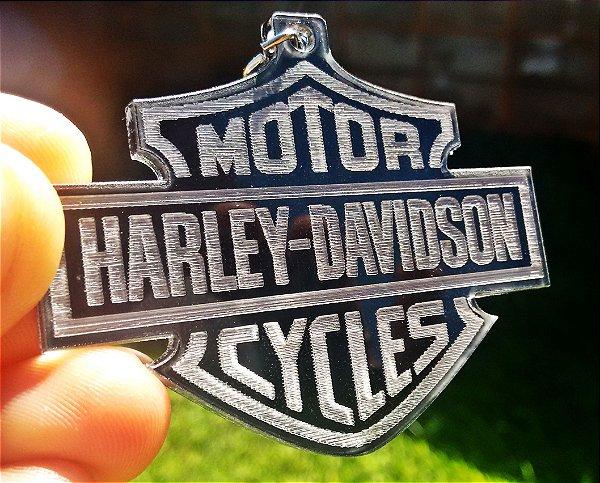 Chaveiro Harley Davidson Acrílico