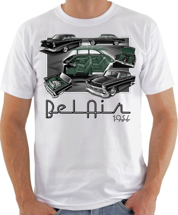 Camiseta Chevrolet Bel Air 1956