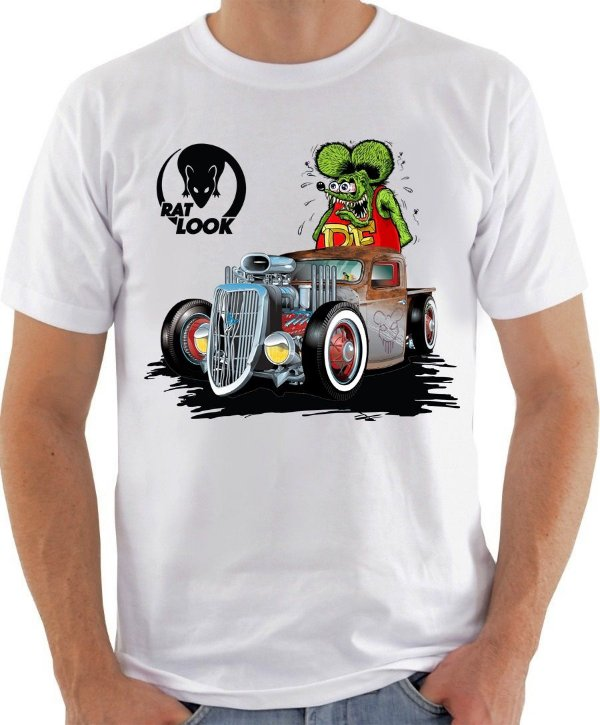 Camiseta Hotrod Ratlook
