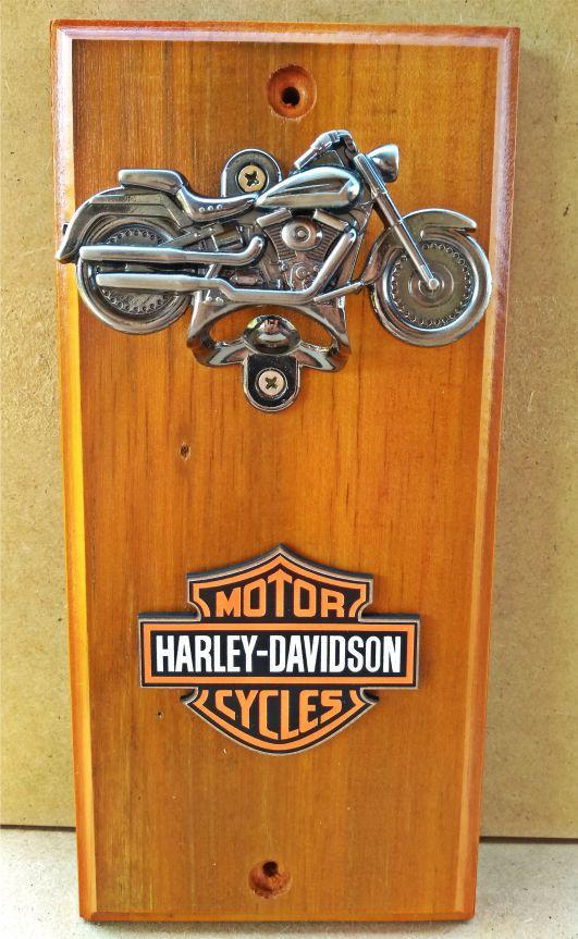 Abridor de Garrafa Harley Davidson