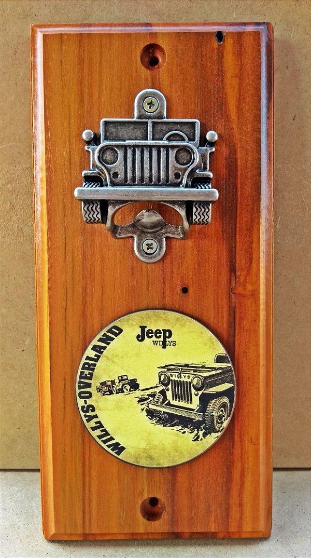 Abridor de Garrafa Jeep Willys Overland