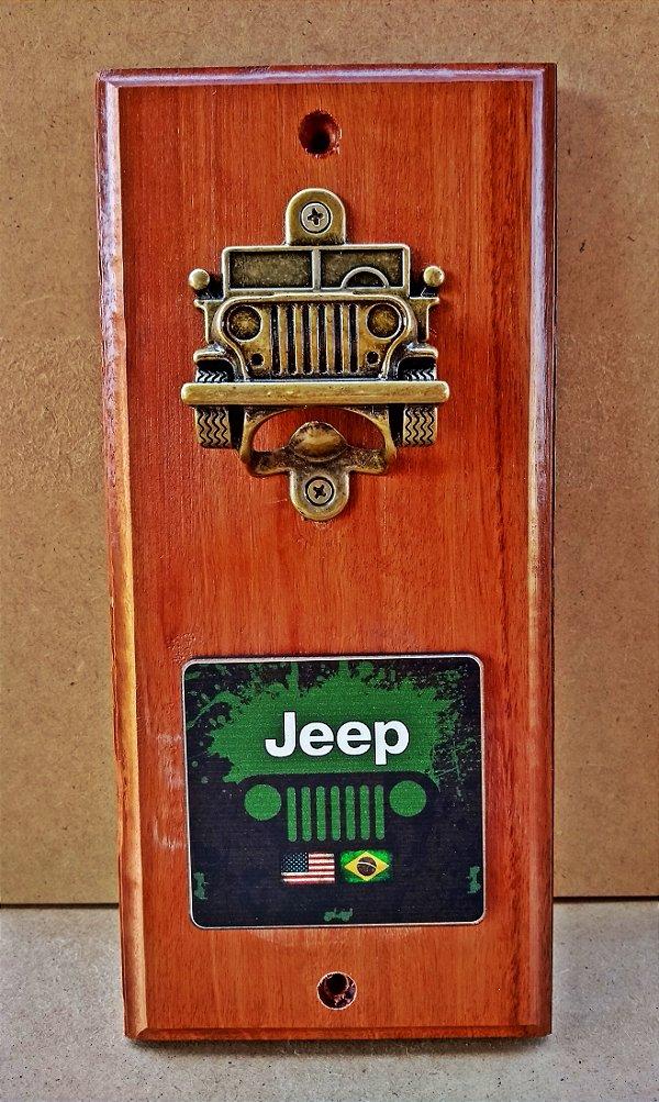 Abridor de Garrafa Jeep
