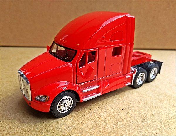 Kenworth T700  Vermelho - Escala 1/68 - 12 CM