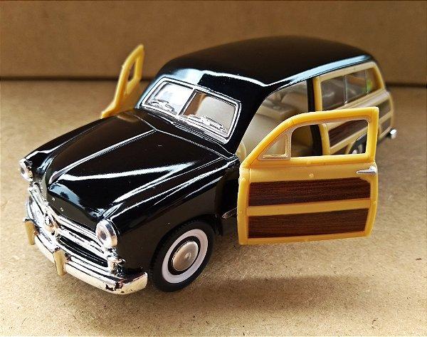 Ford Woody Wagon 1949 Preta - Escala 1/40 13 CM