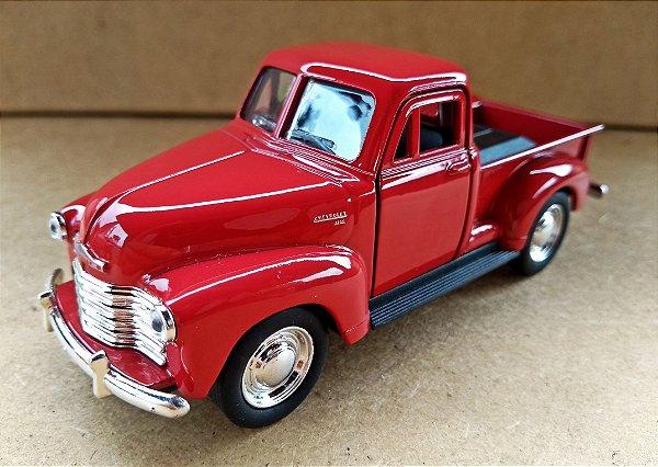 Chevrolet 3100  Pickup 1953 Vermelha - Escala 1/38 13 CM