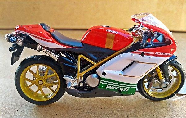 Ducati 1098 S - ESCALA 1/18 - 12 CM