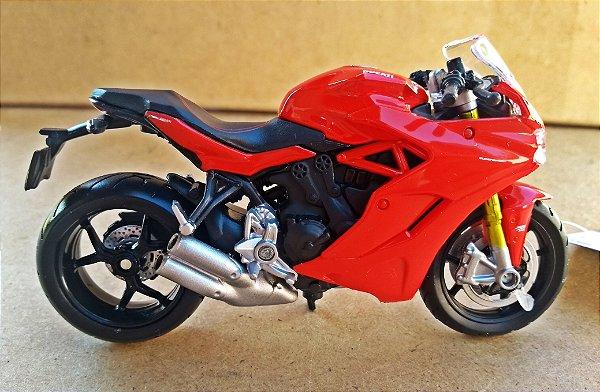 Ducati Super Sport S - ESCALA 1/18 - 12 CM
