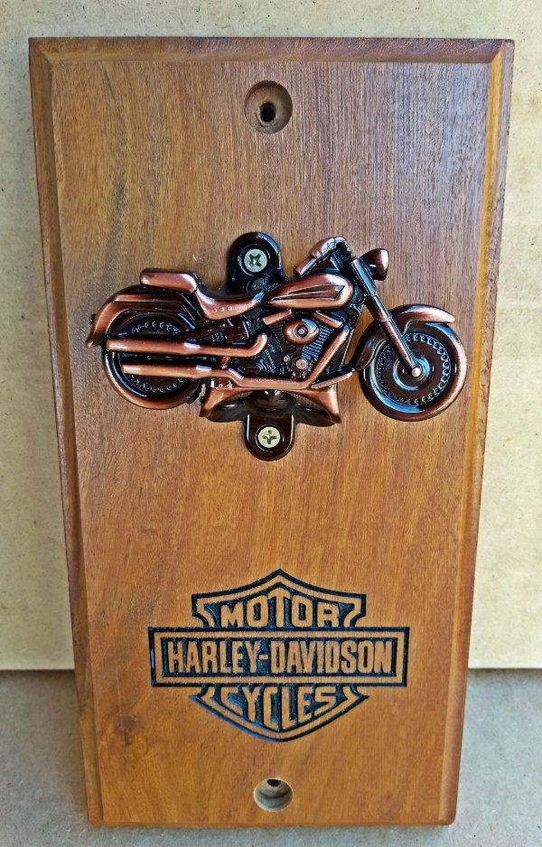 Abridor de Garrafa Harley Davidson  Gravado