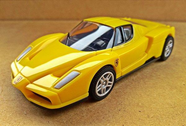 Ferrari Enzo Ferrari - Escala 1/38 11 CM Amarela
