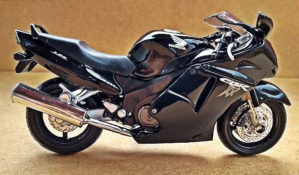 Honda CBR 1000 XX Black - ESCALA 1/18 - 12 CM