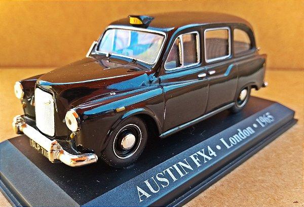 Austin FX4 1965 -Táxi Londres - ESCALA 1/43 - 11 CM
